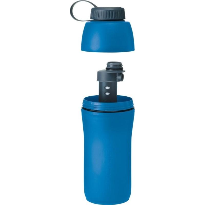 Platypus Meta Bottle + Microfilter 1 l modrá
