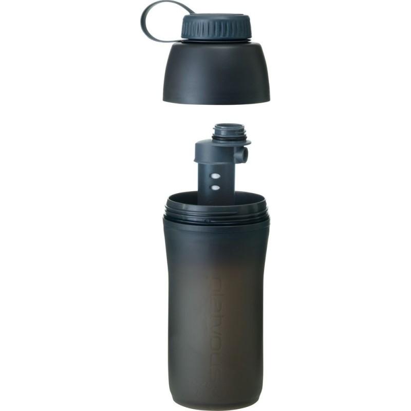 Platypus Meta Bottle + Microfilter 1 l sivá