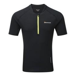 Montane Fang Zip T-Shirt Black