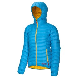 Ocun Tsunami Down Jacket - Blue/Yellow
