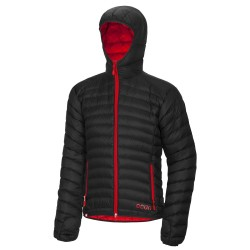 Ocun Tsunami Down Jacket - Black/Red
