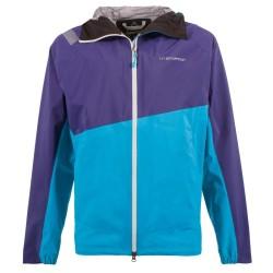La Sportiva Zagros Gtx Jacket M - Indigo/Tropic Blue