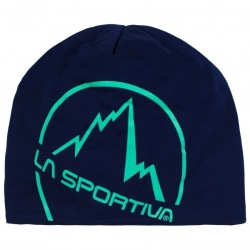 La sportiva Circle Beanie - Pumpkin/Tropic blue