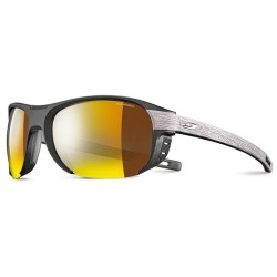 Julbo REGATTA Polarized 3CF - BLACK / WOOD / GOLD