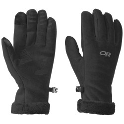 Outdoor Research Womens Fuzzy Gloves black