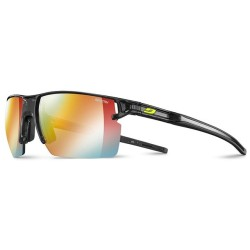 Julbo OUTLINE Reactiv Zebra Light fire - TRANSLUSCENT BLACK / BLACK
