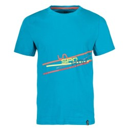 La Sportiva Stripe 2.0 T-shirt M tropic/blue