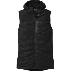 Outdoor Research Deviator Hooded Vest Polartec - black/charcoal
