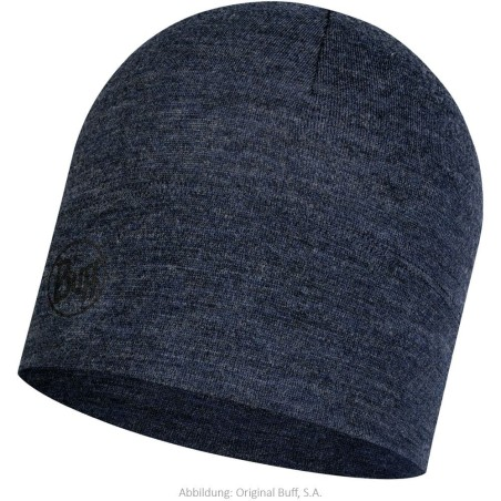 BUFF Midweight Merino Hat - night blue
