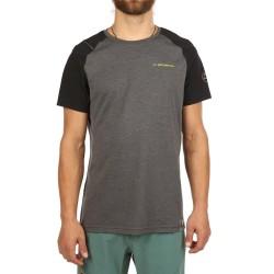La Sportiva Stride T-Shirt M - Carbon/Black