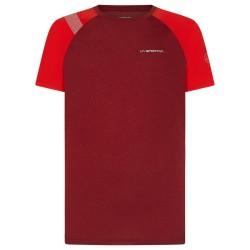 La Sportiva Stride T-Shirt M - Chili/Poppy