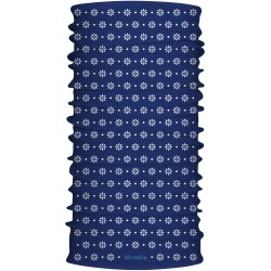 SPORTCOOL MULTIFUNKČNÝ ŠÁL - vzor kruh - modrá
