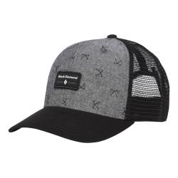 Black Diamond Trucker Hat - Chambray - Black