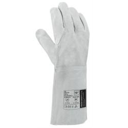 Mel pracovné rukavice
