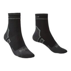 Bridgedale Storm Sock LightWeight Ankle - black