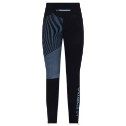 La Sportiva Supersonic Pant Woman- Black/Pacific Blue