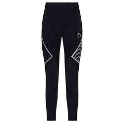 La Sportiva Yoria Pant Men - Black/Poppy