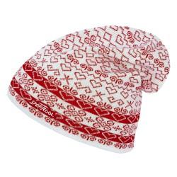 Sportcool Dámska čiapka- biela/červená