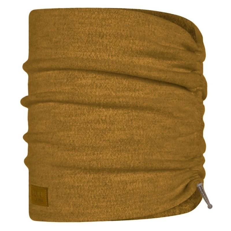 Buff  Merino Wool Fleece Neckwarmer - Ochre
