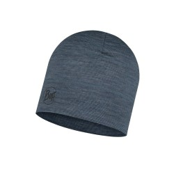 Buff Lightweight Merino Wool Hat - denim stripes