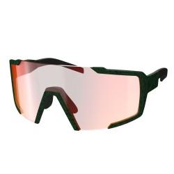 SCOTT SHIELD slnečné okuliare - iris green/red chrome enhancer