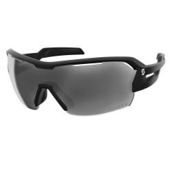 SCOTT SPUR slnečné okuliare - black matt/grey + clear