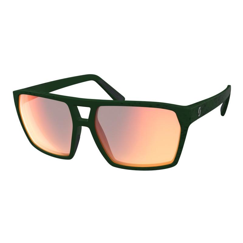 SCOTT TUNE Slnečné okuliare - iris green/red chrome enhancer