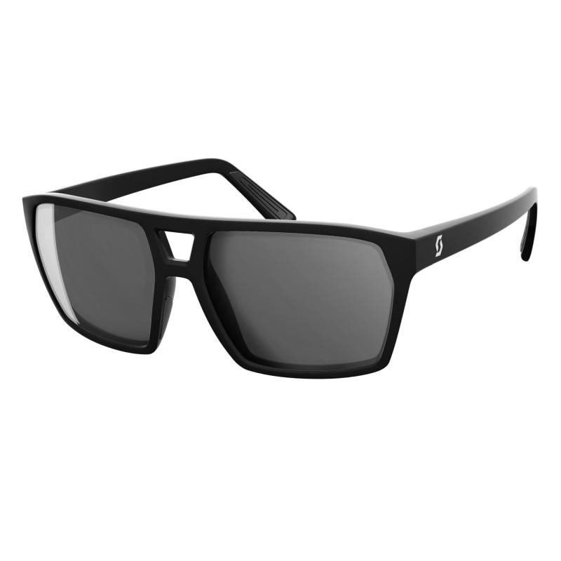 SCOTT TUNE Slnečné okuliare - black matt/grey