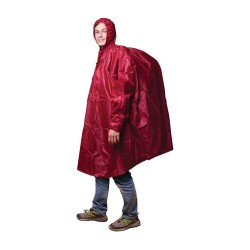 Frendo Breathing Poncho - red
