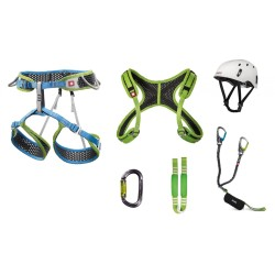 Ocun Via Ferrata Webee + Chest Pail Set