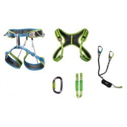 Ocun Via Ferrata Webee + Chest Set