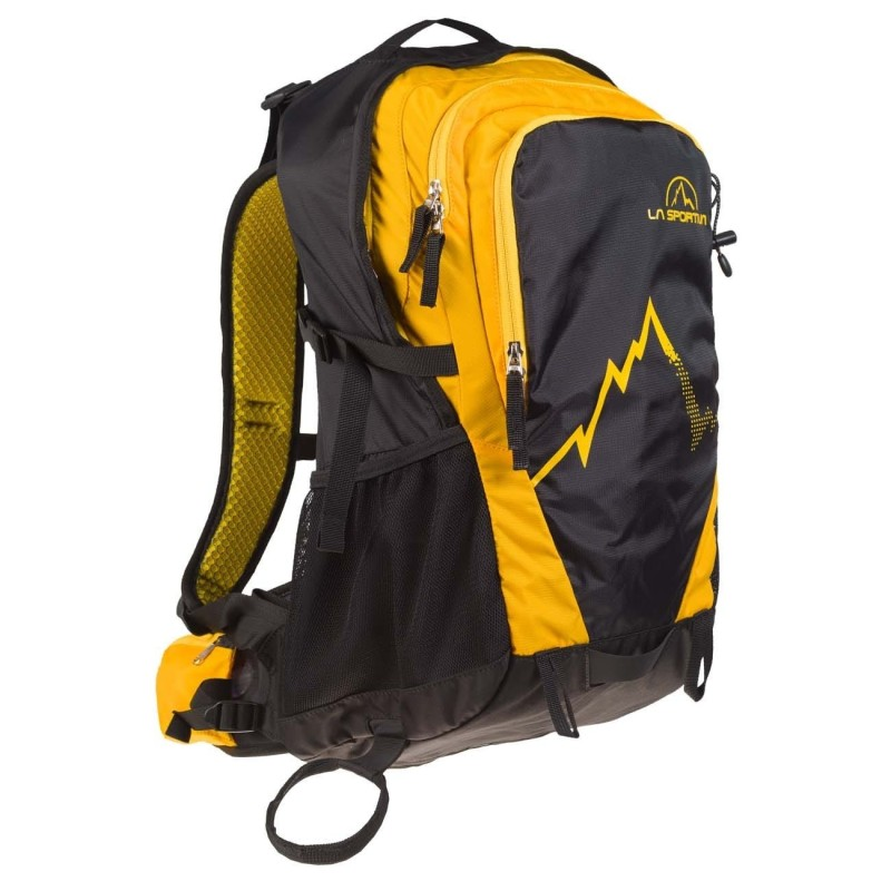 La Sportiva A.T Backpack 30l - Black/Yellow
