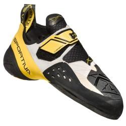 La Sportiva Solution white/yellow