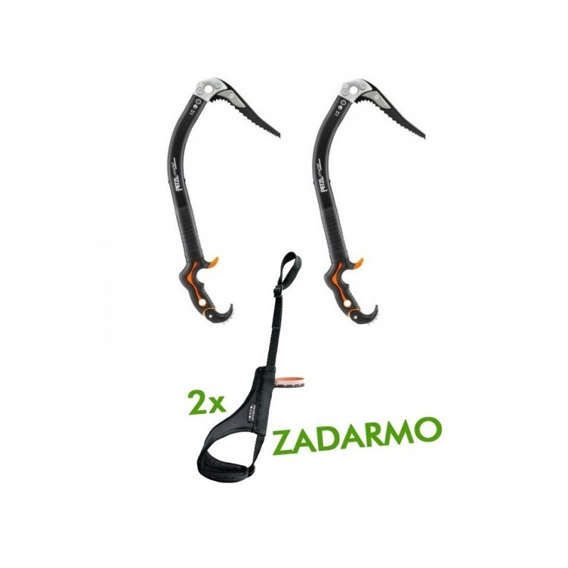 Set Petzl Nomic + 2x Petzl Freelock Zadarmo