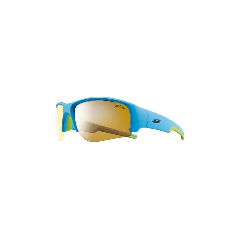 Julbo DUST Zebra - Matt cyan blue / green