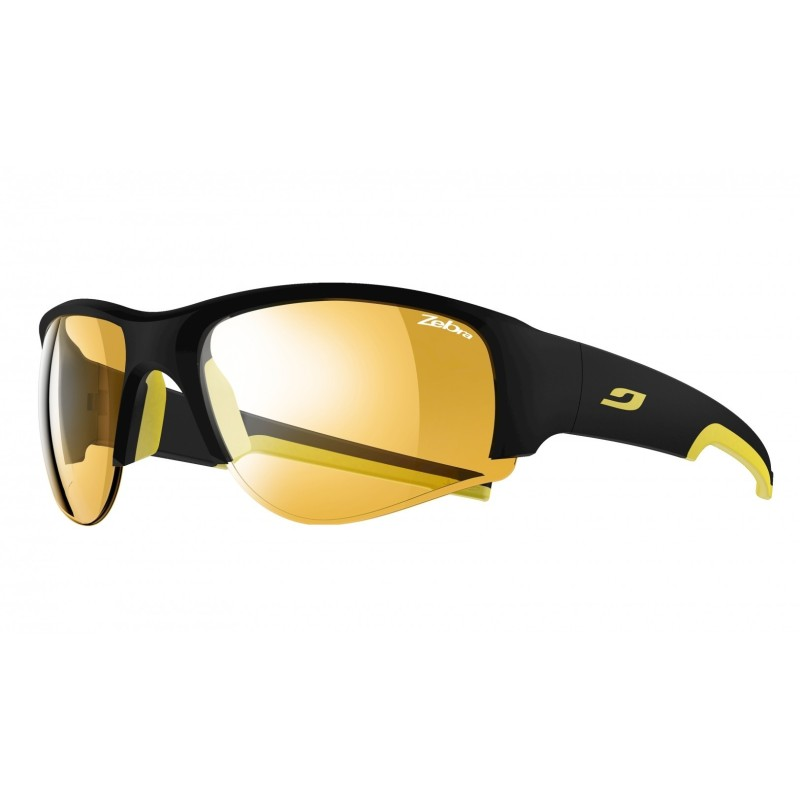 Julbo DUST Zebra - Matt black/yellow