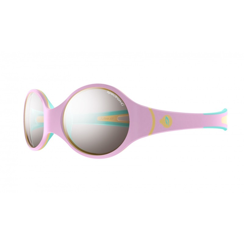 Julbo LOOP Spectron 4 baby - Pink/Sky blue/Beige