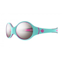 Julbo LOOP  Spectron 4 baby - Turquoise/Gray/Fluorescent pink