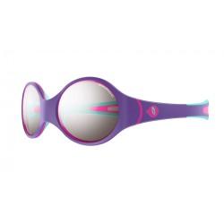 Julbo LOOP Spectron 4 baby - Purple/Sky blue/Fluorescent pink