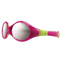 Julbo LOOPING I Spectron 4 baby - Fuchsia/Lime green