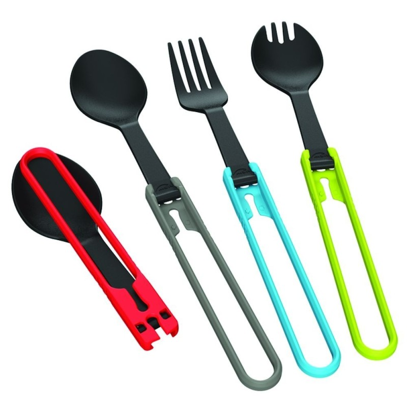 MSR Folding Utensils Spoon  - lyžica šedá