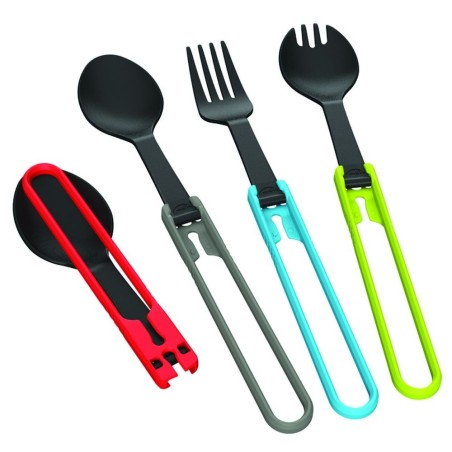 MSR Folding Utensils Fork  - vidlička šedá