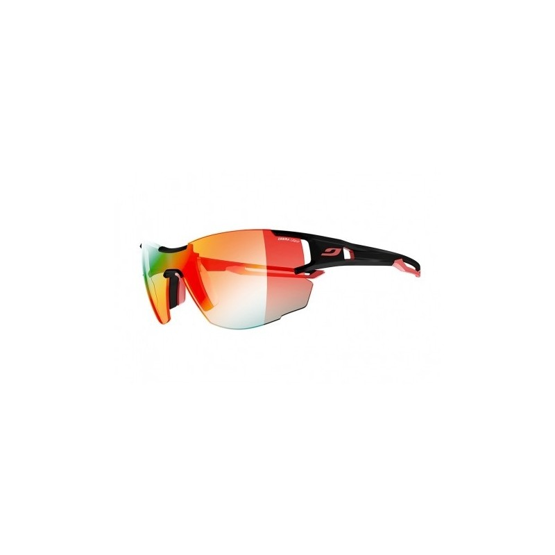 Julbo AEROLITE Zebra Light Fire - BLACK/RED
