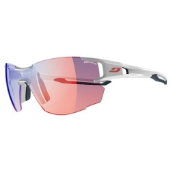 Julbo AEROLITE Zebra Light RED  - WHITE/ BLUE-GREY