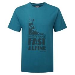 MONTANE  Fast Alpine T-Shirt modré