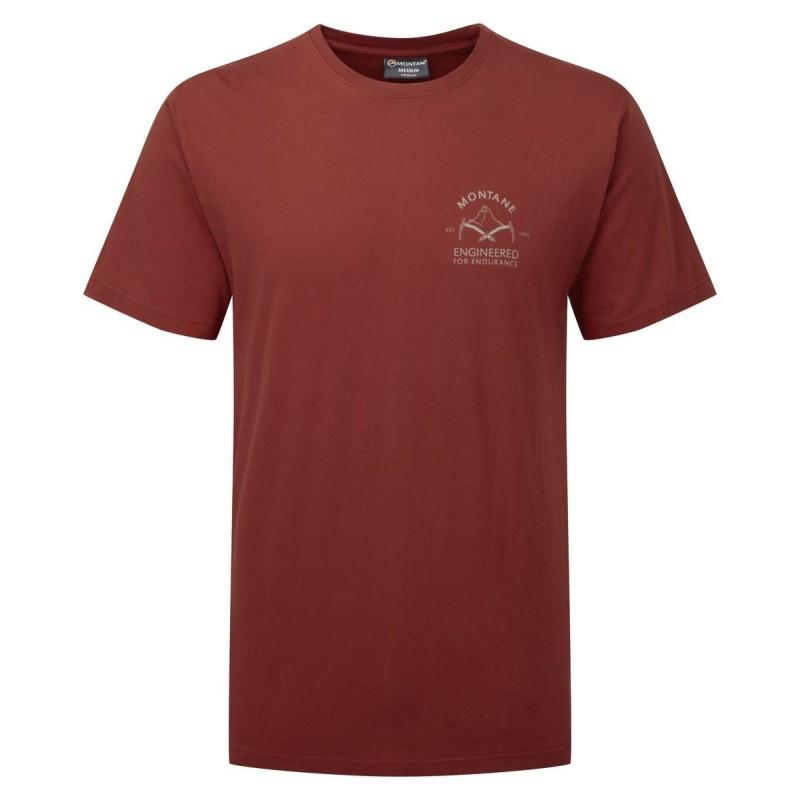 MONTANE  Piolet T-Shirt červené
