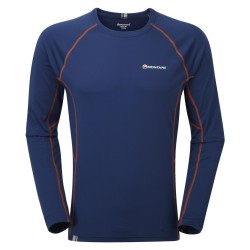 MONTANE  Sonic Long Sleeve T-Shirt  modré