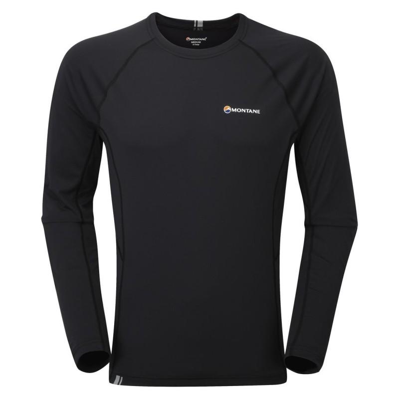 MONTANE  Sonic Long Sleeve T-Shirt  čierne