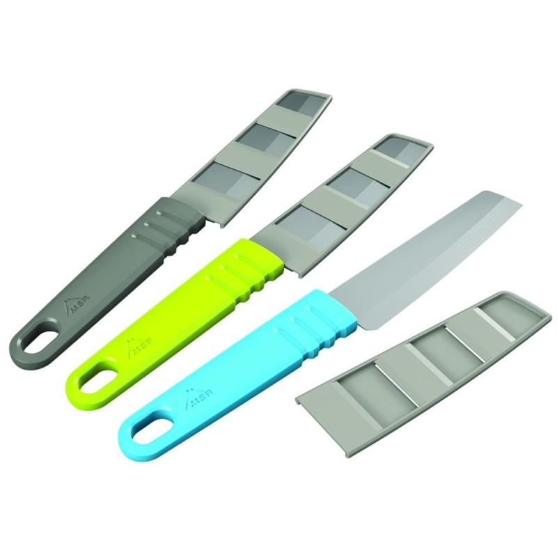 MSR Alpone Kitchen Knife - nôž zelený