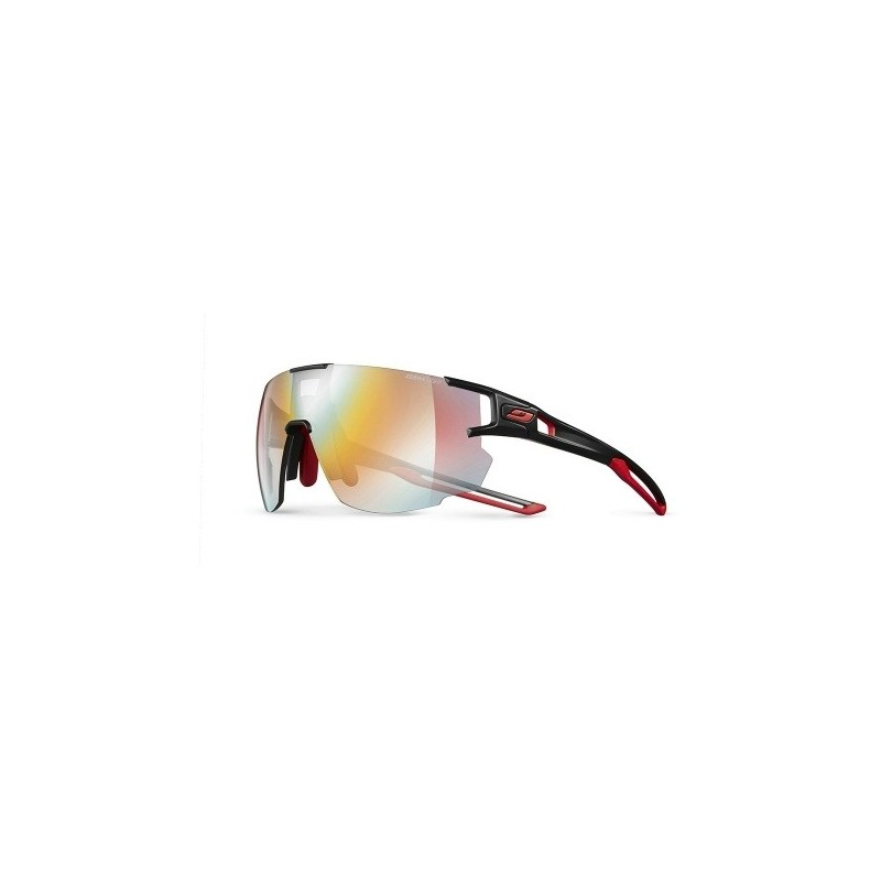 Julbo AEROSPEED zebra light FIRE - BLACK / RED / RED